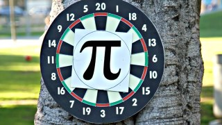 Calculating Pi (π) with Darts