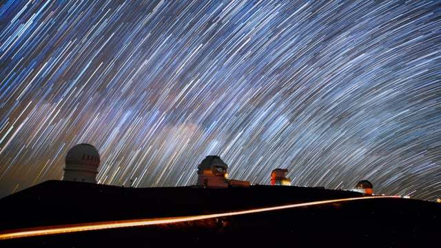 POLI'AHU, a time lapse at Mauna Kea's Astronomical Observatories
