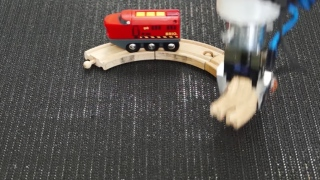 Robotic Loop: Train vs. Robot