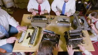 Playing Against Type: The Typewriter Orchestra