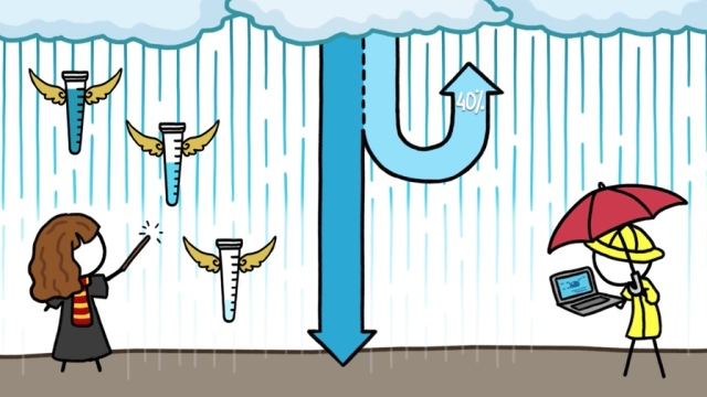 Why Most Rain Never Reaches The Ground
