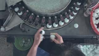 How table tennis balls are made