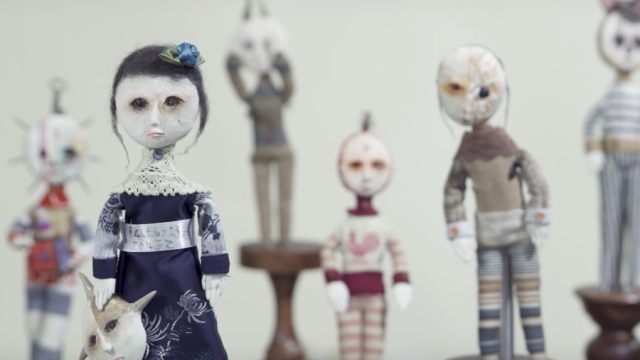 The figurative sculptures of a 12-year-old found objects artist
