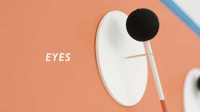 EYES, a series of playful kinetic installations