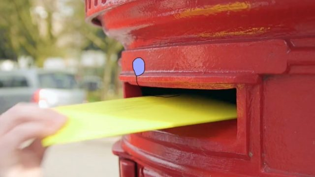 Journey of a Letter: How a birthday card is sent and delivered in London