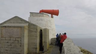 Sounding Shetland's recently restored Sumburgh Head Foghorn
