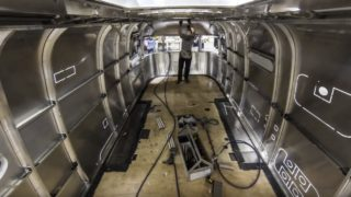 A time lapse glimpse into the Airstream Factory