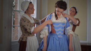 Getting dressed in 18th century England