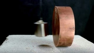 The surprising interactions between copper and neodymium magnets