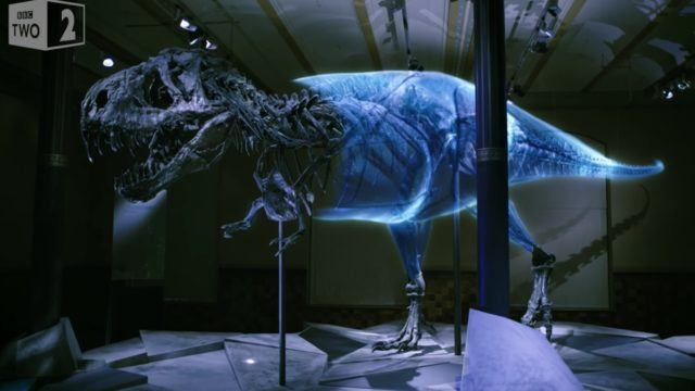 Rebuilding a real T. Rex with scientific research & new tech