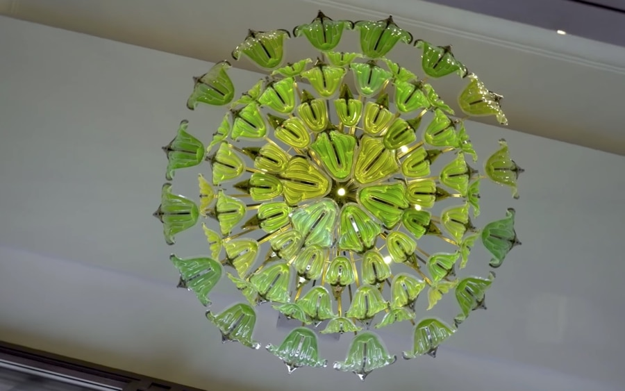 The exhale bionic chandelier microorganism filled leaves that melchiorri has been exploring how biotechnology and biomimicry might help purify the air in urban spaces or even space stations for years aloadofball Image collections