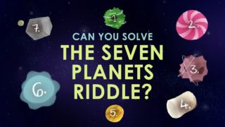 Can you solve the seven planets riddle?