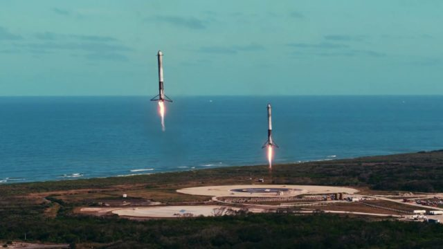 Falcon Heavy & Starman, a montage of SpaceX's historic test flight