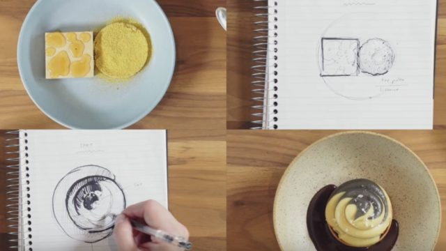 Turning quick sketches into beautiful desserts