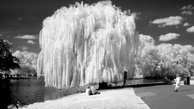 Invisible London: A near-infrared look at the British capital