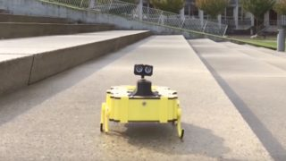 Zebro, an autonomous swarming robot built for rescue
