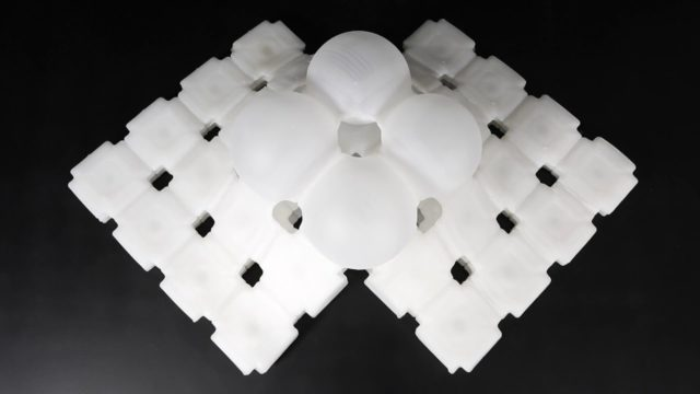 Liquid Printed Pneumatics: 3D printing stretchy silicone structures