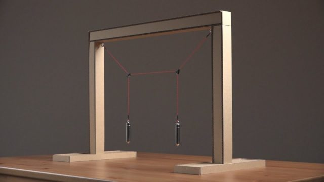 The Coupled Pendulum, a physics demonstration