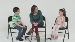 Kids Meet a Person With Cerebral Palsy