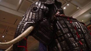 Elephants of War: Elephant armor (bargustavan-i-pil) from India, circa 1600