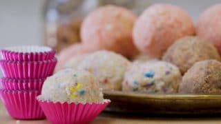 The magic formula for Milk Bar's strawberry-lemon cake truffles
