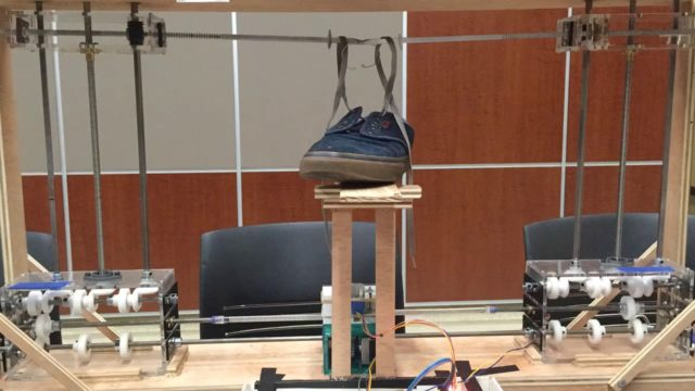The Shoe-Tying Robot