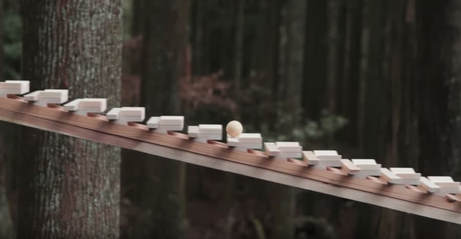 japanese forest xylophone