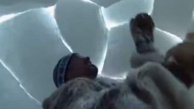 How to build an igloo: A clip from A Boy Among Polar Bears