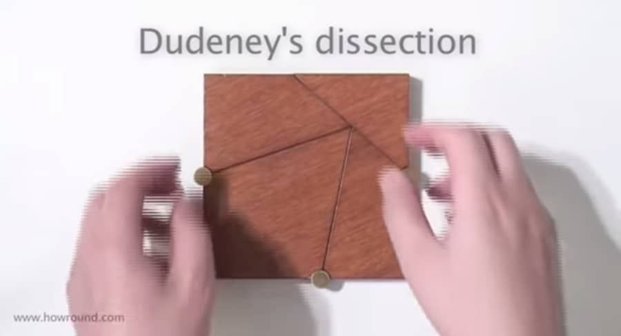 Dudeney's Dissection