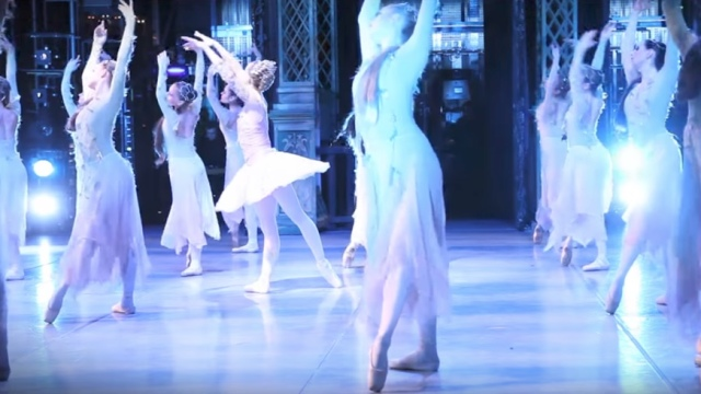 Backstage Sleeping Beauty –The Royal Ballet of Flanders