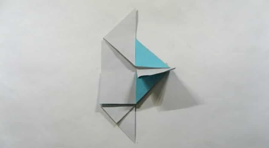 fish origami stop motion