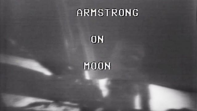 Neil Armstrong's First Steps on the Moon: CBS covers Apollo 11