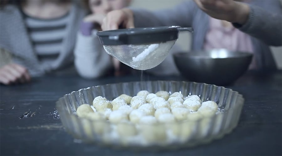 how to make snoball cookies