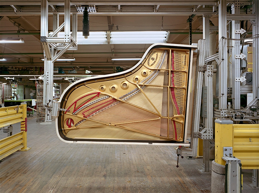 Steinway Piano, photo by Christopher Payne