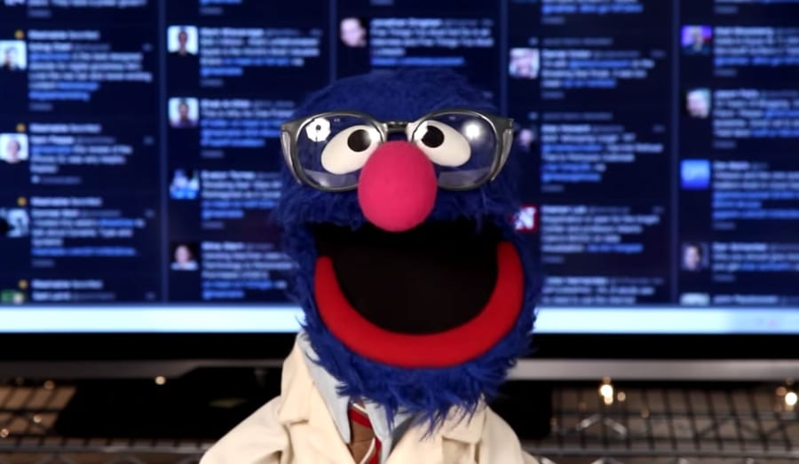 grover tries five science experiments