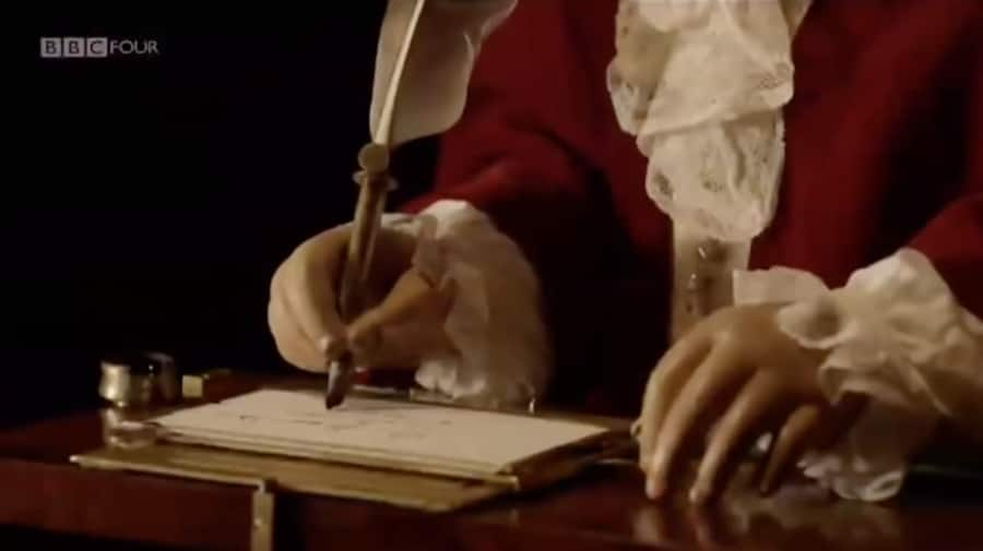 the writer automaton - hands