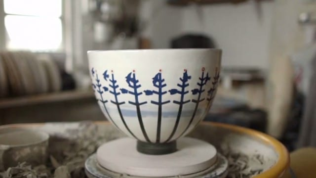 Experimental animation meets pottery – A zoetrope bowl