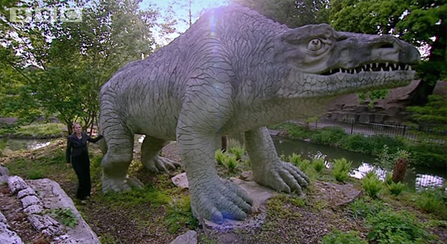 crystal palace dinosaur exhibition
