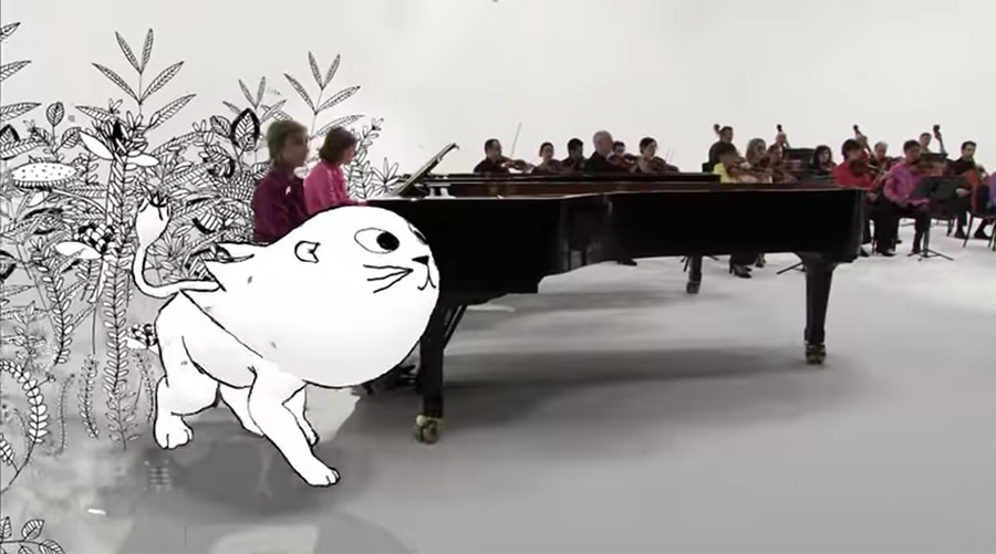 lion joining the orchestra