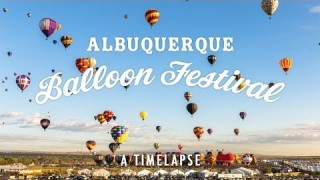 Albuquerque's 2013 Hot Air Balloon Fiesta, a time lapse