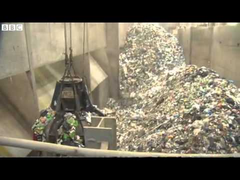 How do you turn rubbish into energy?
