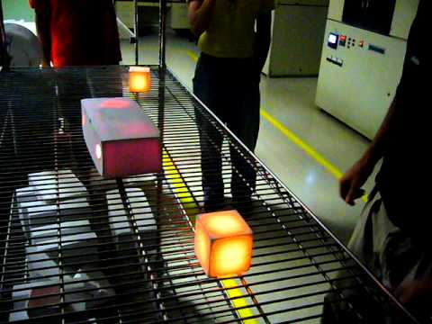 Picking up NASA's 2,200 degree thermal tiles with bare hands