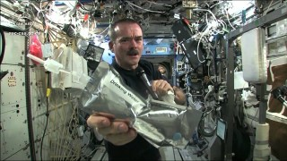 Wringing out Water on the ISS and 'Space Oddity'