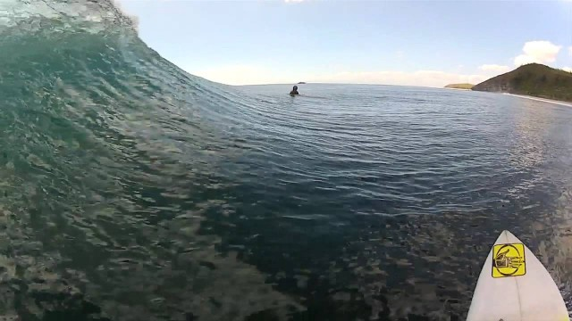 Surfboard-mounted camera – Anthony Walsh Indo surf sessions