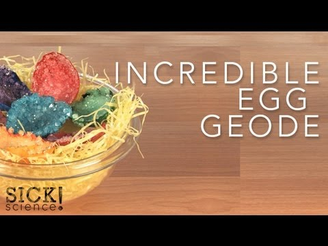 Incredible Egg Geode – Sick Science