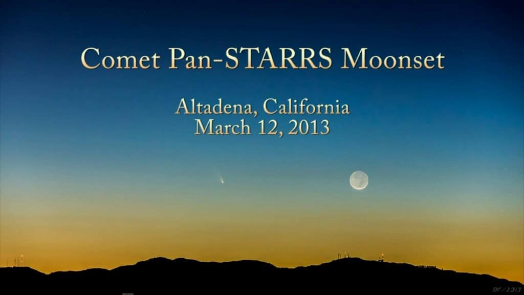 ScienceCasts: A Naked-Eye Comet - Comet Pan-STARRS - The