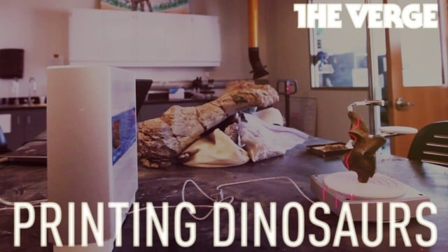 3D Printing Dinosaurs: The mad science of new paleontology