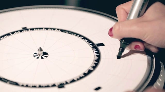 Dyskograf: drawings translated into music