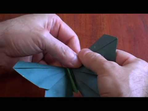 A clip from Between the Folds, a film about Origami