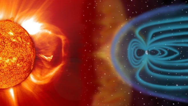 Space Weather: Storms from the Sun